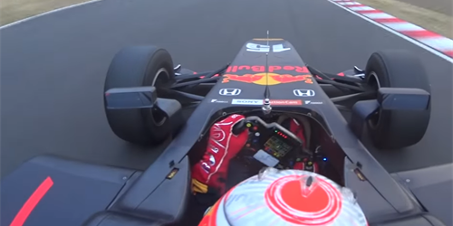 Onboard video: Pierre Gasly v super formuli