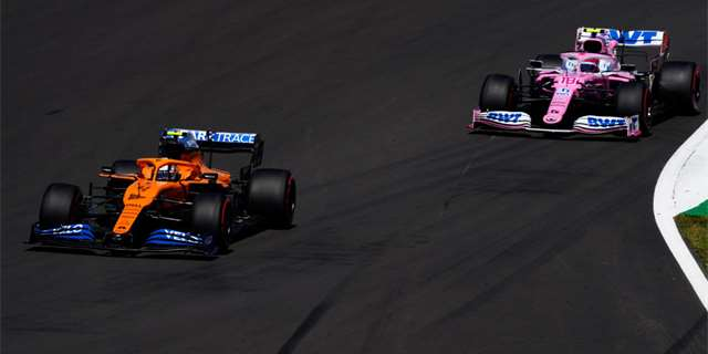 Týmy McLaren a Williams se stáhly z boje proti Racing Pointu | Foto: Getty Images / Will Oliver