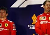Leclerc nese těžce singapurskou porážku týmovým kolegou