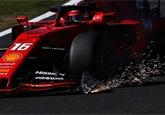 Leclerc dostal po GP Japonska dvě penalizace