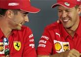 Leclercova vítězství ve Ferrari nikoho nepřekvapila, říká Vettel