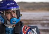 Alonso se v Namibii připravuje na Dakar 2020