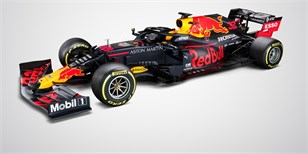 Red Bull ukázal RB16, se kterým chce letos vyzvat Mercedes | Zdroj:  Red Bull Content Pool