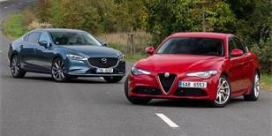 Mazda 6 2.5 Sky-G vs. Alfa Romeo Giulia 2.2 JTDM 180 – Volba srdcem