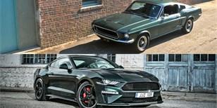 Ford Mustang Bulllitt: Slavná filmová hvězda a její nástupci ve velké galerii