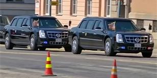 Bestie proti Senatu, Trump proti Putinovi. Kdo z nich má lepší limuzínu?